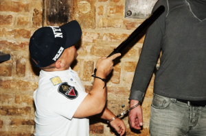 dwarf handcuffed - Stag Emporium