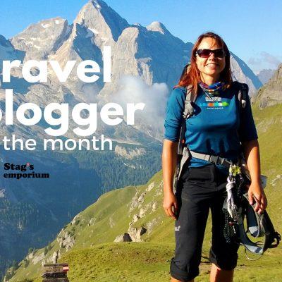 female yeti - travel blogger